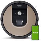 Robot Aspirador Irobot Roomba 974 - Navegación Vslam Con Localización Visual - Limpieza 3 Fases - 2 Cepillos De Goma+Cepillo Esquinas - App Irobot
