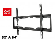 """Soporte de pared One for all 32"""" - 84"""" Wm2621 Inclinable"""