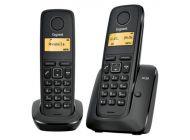 Telefono Dect Siemens Gigaset A120 Duo Negro