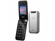 Teléfono Móvil Libre Alcatel 20-51 Flip MetalSilver