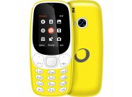 Teléfono libre Brigmton BTM4 Amarillo