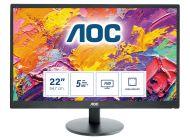 Monitor Aoc E2270Swdn 21.5'/ Full Hd/ Negro