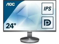 Monitor Ips Aoc I2490Vxq/Bt - 23.8'/60.45Cm - 1920X1080 Full Hd - 16:9 - 250Cd/M2 - 100M:1 - 4Ms - Hdmi - Vga - Flicker Free - Modo Low Blue Light
