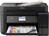 Multifunción Epson Wifi Ecotank Et-3750 - 33/20Ppm Borrador - Duplex - Scan 1200X2400 - Adf - Incluye Tinta Para 25.200 Copias - Depósitos 102