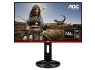 Monitor Gaming Multimedia Aoc G2590Px - 24.5'/62.2Cm - 1920X1080 Fhd - 144Hz - 16:9 - 400Cd/M2 - 50M:1 - 1Ms - 2X2W - Vga - Displayport - 2Xhdmi