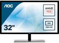 Monitor Led Aoc Q3279Vwfd8 - 31.5'/80Cm Ips - 2560*1440 - 75Hz - 16:9 - 250Cd/M2 - 20M:1 - 5Ms - Hdmi / Vga / Displayport / Dvi