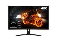 Monitor Gaming Curvo Aoc C32G1 - 31.5'/80Cm - 1920*1080 Full Hd - 16:9 - 250Cd/M2 - 80M:1 - 4Ms - 2*Hdmi - Displayport - Vga - Freesync - Flicker Free