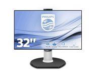 Monitor Multimedia Philips Brilliance 329P9H/00 - 31.5'/80Cm Ips - 3840 X 2160 4K - Cámara Integrada - 350Cd/M2 - 5Ms - Displayport - Hdmi - 2*3W