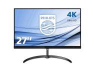 Monitor Philips 276E8Vjsb - 27'/68.5Cm Ips - 3840*2160 4K - 16:9 - 350Cd/M2 - 20M:1 - 5Ms - Displayport - 2*Hdmi - Flickerfree