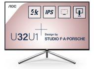 Monitor Profesional Aoc U32U1 31.5'/ 4K/ Multimedia/ Negro