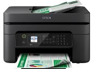 Multifunción Epson Workforce Wf-2830Dwf Wifi/ Fax/ Negra