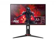 Monitor Gaming Multimedia Aoc 24G2U5 Bk - 23.8'/58.6Cm - 1920*1080 - 16:9 - 250Cd/M2 - 80M:1 - 1Ms - Alt. 2*2W - 2*Hdmi - Displayport - Vga - 4*Usb3.0