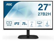 Monitor Aoc 27B2H - 27'/68.5Cm - 1920*1080 Full Hd - 16:9 - 250Cd/M2 - 20M:1 - 7Ms - Hdmi - Vga - Modo Low Blue Light - Flickerfree