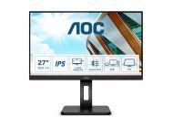 Monitor Profesional Aoc 27P2C 27'/ Full Hd/ Multimedia/ Negro