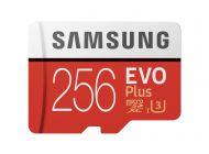 Tarjeta De Memoria Samsung Evo Plus 256Gb Microsd Xc Con Adaptador/ Clase 10/ 100Mbs