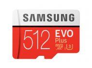 Tarjeta De Memoria Samsung Evo Plus 512Gb Microsd Xc Con Adaptador/ Clase 10/ 100Mbs