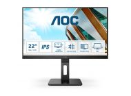 Monitor Aoc 22P2Du 21.5'/ Full Hd/ Multimedia/ Negro
