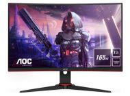 Monitor Gaming Curvo Aoc C24G2Ae 23.6'/ Full Hd/ Multimedia/ Negro