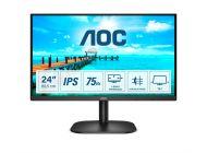 Monitor Aoc 24B2Xda 23.8'/ Full Hd/ Multimedia/ Negro