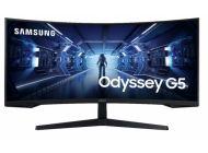 Monitor Gaming Curvo Samsung Odyssey G5 Lc34G55Twwr 34'/ Ultra Wqhd/ Negro