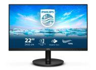 Monitor Philips V-Line 221V8Ld 21.5'/ Full Hd/ Negro