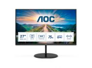 Monitor Profesional Aoc Q27V4Ea 27'/ Qhd/ Multimedia/ Negro