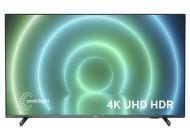 "LED Philips 70Pus7906 70"" 4K UltraHD Smart Tv Wifi Gris"