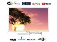 "TELEVISOR LED EAS ELECTRIC E24SL702W 24""  SmartTv Wifi Blanca"