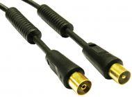 Cable de Antena Calidad ORO 1.5m