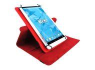 Funda 3Go Csgt15 Universal Para Tablets De 10.1'/ Roja