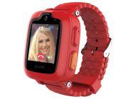 Reloj Inteligente Con Localizador Para Niños Elari Kidphone 3G Rojo - Pantalla Táctil Color - Gps/Lbs/Wifi - Videollamada - Resistente Agua
