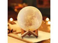 Lámpara Decorativa Jocca Luna 3D 3 Modos de Iluminación
