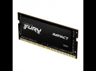 Memoria Ram Kingston Fury Impact 8Gb/ Ddr4/ 2666Mhz/ 1.2V/ Cl15/ Sodimm