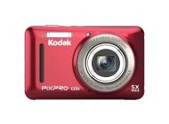 Cámara Digital Kodak Pixpro Cz53/ 16Mp/ Zoom Óptico 5X/ Roja