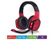 Auriculares Gaming Con Micrófono Spirit Of Gamer Elite-H60/ Jack 3.5/ Usb 2.0/ Rojo