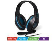 Auriculares Gaming Con Micrófono Spirit Of Gamer Pro-H5/ Jack 3.5/ Azul