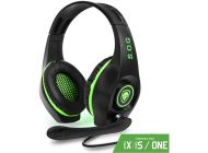 Auriculares Gaming Con Micrófono Spirit Of Gamer Pro-Xh5/ Jack 3.5/ Verde