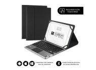 Funda Con Teclado Subblim Keytab Pro Bluetooth Touchpad Para Tablets De 10.1'/ Negra
