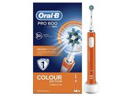 Cepillo eléctrico Oral B PRO600 CrossAction Naranja