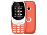 Teléfono libre Brigmton BTM4 Naranja