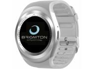 Reloj Inteligente Brigmtom BWATCH-BT7 Blanco
