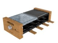 Plancha Cecotec Raclette Cheese&Grill 8400 Wood MixGrill