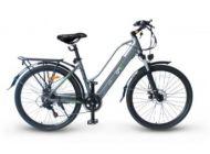"""Bicicleta Eléctrica EMG Queen Citybike 26"""" 10AH Gris"""