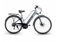 "Bicicleta eléctrica EMG 28"" 10AH Gris"