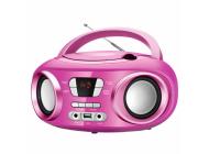 Rad/cd Brigmton W-501 Rosa Usb Bluetooth