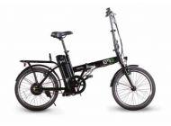 "Bicicleta eléctrica EMG Speedy Foldable Bike 20"" 6AH Black"