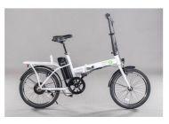 "Bicicleta eléctrica EMG Speedy Foldable Bike 20"" 6AH White"