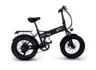 "Bicicleta eléctrica EMG Bomber Foldable Bike 20"" 10AH"