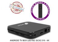 ANDROID TV BOX LEOTEC GCX2 216 4K