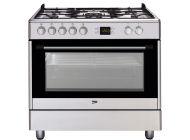 Cocina con Hornillos de gas Beko GM15321DX